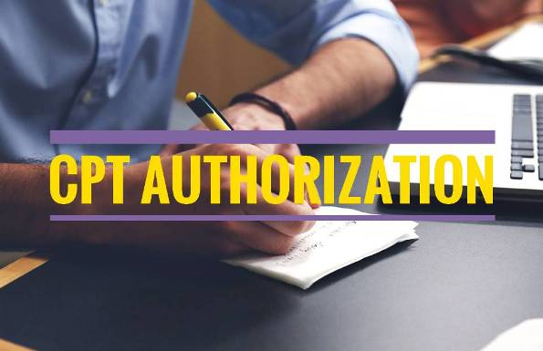 CPT Authorization Image