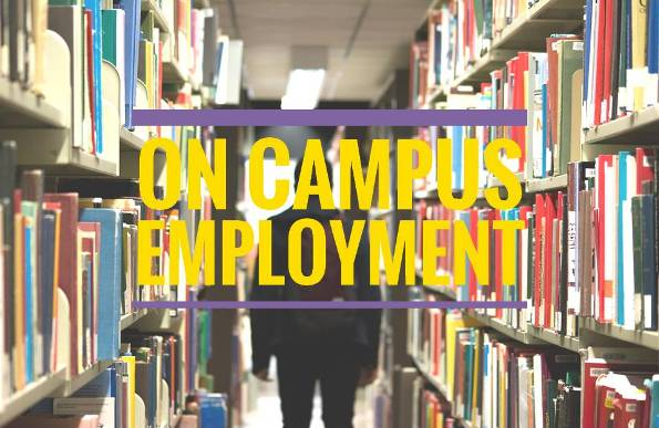 On Campus Employment Image