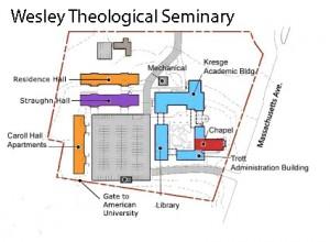WTS Campus Map AU
