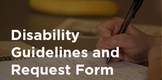disability guidelines form