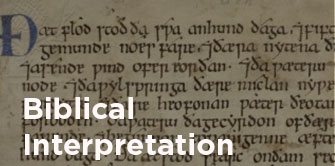 Library biblical interpretation