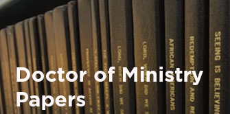 Library Doctor of Ministry Papers