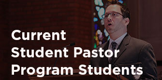 Current Student Pastor Program Students student preaching photo