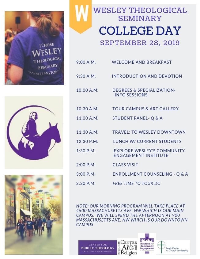 College Day Agenda 2019