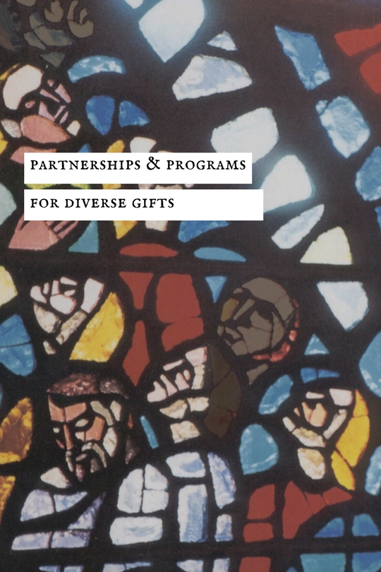 Partnerships & programs for Diverse gifts