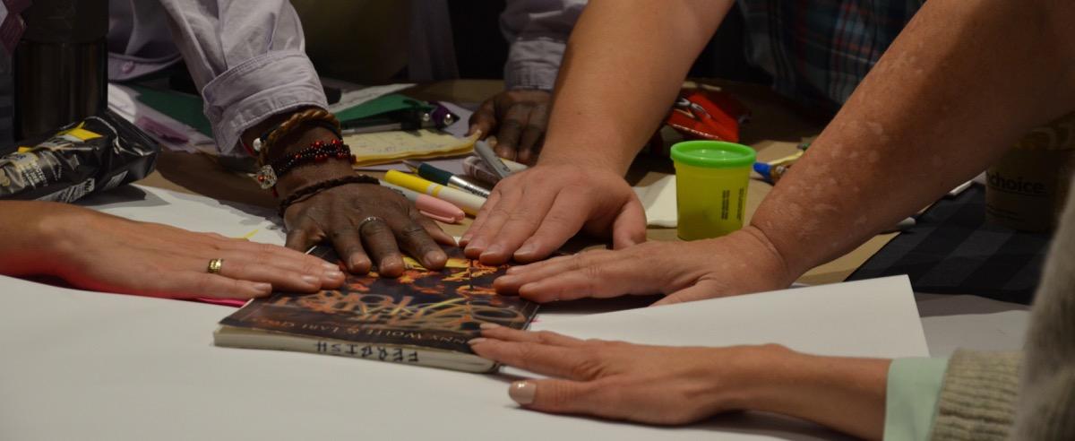 September Hub Retreat Prayer Hands
